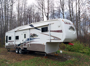 Motivated to sell beautiful 36 foot Cedar Creek Fifth Wheel
