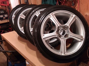 Mags+ pneus Mazda Protégé