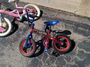 Bikes and bike trailer