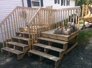 Stairs/ deck