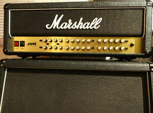 Like New 100Watt Marshall JVM410H and 1960A Marshall Slant Cab