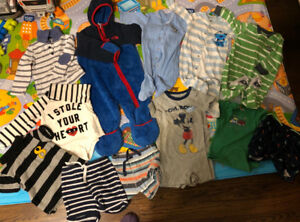 Baby boy clothes 12-18 month including North Face outwear