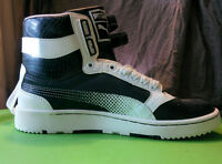 PUMA High-top shoes. Size 7, Leather, NEW. Espadrilles NEUFS