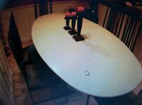 large marble table &; base