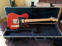 Télécaster road worn rouge