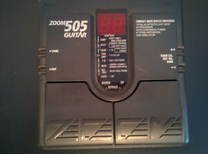 For Sale: Zoom 505 Guitar Multi-effects Pedal