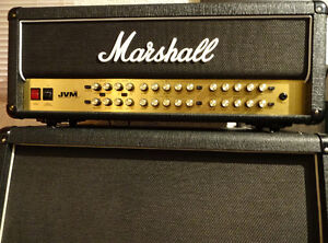 10/10 100 Watt Marshall JVM410H plus 1960A Matching Marshall Cab