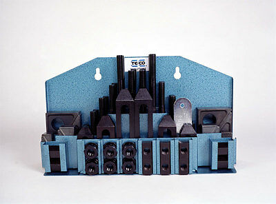 Te - Co Usa Deluxe 52 Pc. Clamping Kit All New 716 Slot 20412 Usa Made