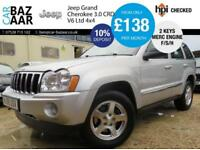 Jeep Grand Cherokee 3.0CRD V6 auto Limited+FULL SERVICE HISTORY