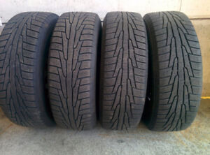 Nokian Winter Tyre 185/65 R 15 with Rims + Donut Tyre