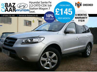 Hyundai Santa Fe 2.2CRTD ( IV ) ( 7st ) CDX+REAR DVD+SAT NAV+F/S/H+FULL LEATHER