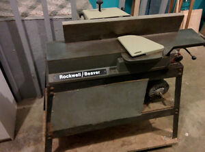 6 Inch Rockwell Jointer Planer Cast Iron