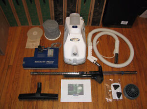 MIRACLE MATE PLATINUM VACUUM + SEBO PRO REFURB CLEARANCE WARNTY