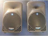 Mackie 350 PA speakers / floor wedges