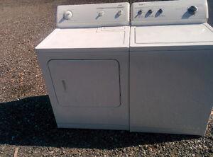 Washers  and dryer  and gas dryer