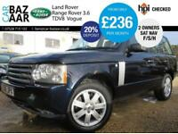 Land Rover Range Rover 3.6TD V8 auto Vogue+F/S/H+2 OWNERS+