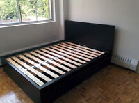 Ikea MALM Queen Bed Frame