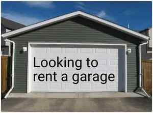 """I'm looking to rent a garage """"West-End"""" Peterborough"""