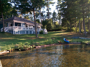 600 FT OF WATERFRONT, 2 ACRES, 2000SF COTTAGE ISLAND PROPERTY