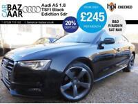 Audi A5 1.8 TFSI ( 170ps ) Sportback Black Edition+F/AUDI/H+NAV+B&O+2 KEYS