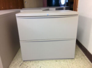 2 Drawer Lateral Filing Cabinets; Filing Cabinets