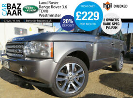 Land Rover Range Rover 3.6TD V8 auto Westminster+F/LR/H+2 OWNERS+