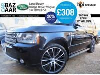 Land Rover Range Rover 3.6TD V8 auto Vogue+22 INCH ALLOYS+F/S/H+SAT NAV