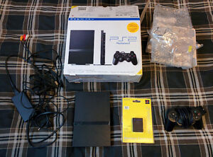 PS2 bundle for parts, not working