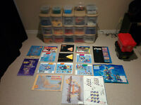 K'NEX galore (accumulated kits over 18yrs, between 3 familes)