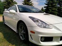 Rare Alpine White 2004 Toyota Celica GT-S Tsunami Coupe