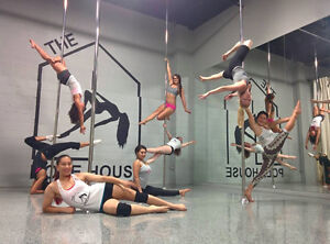 Pole and Aerial Group Fitness Classes / Lessons London Ontario image 3