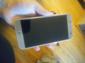 mint samsung galaxy s7 unlocked with case 350$ obo