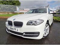 2014 BMW 520 2.0TD ( 184bhp ) Auto SE (Facelift Model - One Owner) - KMT Cars
