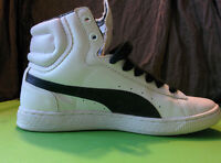 PUMA Women's High-tops. 7.5, Leather. Great Condition.