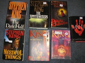 Stephen King books $5 each