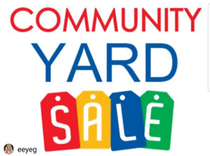 Tables available at indoor yard sale 10575-114 st