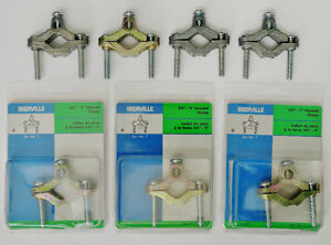 Ground Clamps, 7 pieces, new