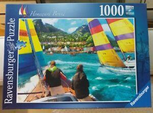 "Ravensburger 1000 Jigsaw Puzzle ""Homeward Bound""  Complete"