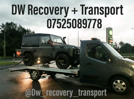24/7 Recovery and transport