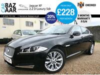 Jaguar XF 2.2TD ( 190ps ) auto Luxury+2 OWNERS+F/S/H+NAV+2 KEYS