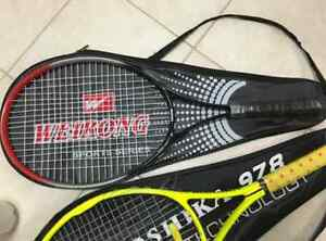 Two Tennis Racquets with 6 Balls