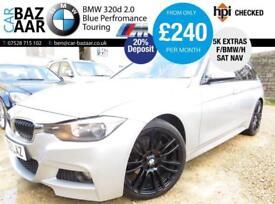 BMW 320 2.0TD ( 184bhp ) ( s/s ) Touring d M Sport+F/BMW/H+SAT NAV