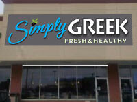 NEW Simply Greek Restaurant is Hiring for All Positions