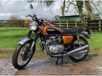 Honda CB500 KO 1972 Rare Model, Classic Japanese Motorcycle!