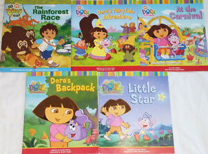 Qty 2 Sets of 5 Dora & Diego Books London Ontario image 2