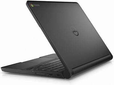 "DELL Chromebook laptop 11.6"" 16GB SSD 2GB HDMI Usb 3 WiFi webcam Chrome OS"