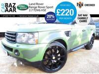 Land Rover Range Rover Sport 2.7TD V6 auto HSE+ONE OFF CAMO WRAP+NEW CAMBELT+