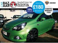 Vauxhall Corsa 1.6i 16v Turbo VXR Nurburgring Edition+F/S/H+2 OWNERS+2 KEYS