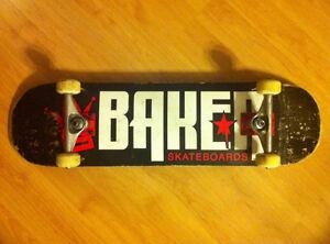 "Baker Skateboard (8.25"" Great Condition)"
