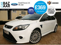 Ford Focus 2.5 ( 305ps ) RS+F/FORD/H+1OWNER+LUXURY PACK 1 & 2